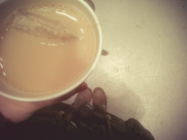 This chai tea was the most exciting part of my day.